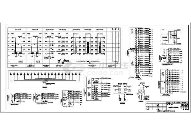 多层商住楼电气施工图设计-图1