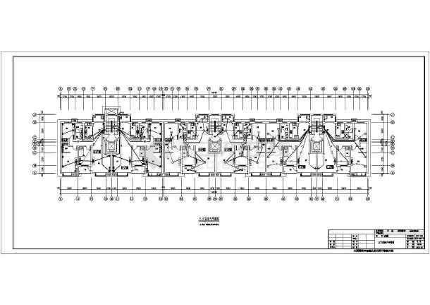 多层商住楼电气施工图设计-图3