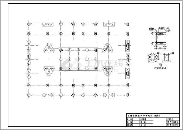 [白银]12层框剪住宅楼结构设计图-图3