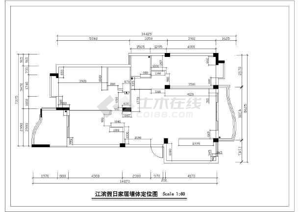 某地高档家具装修图设计方案图(共17张)-图2