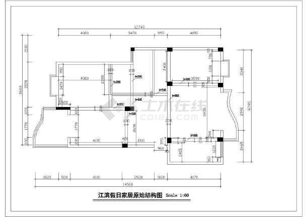 某地高档家具装修图设计方案图(共17张)-图3