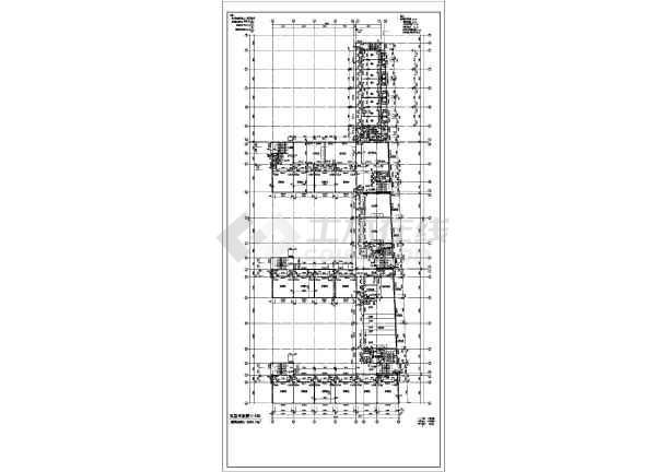 某地大型中学全套建筑施工图-图1