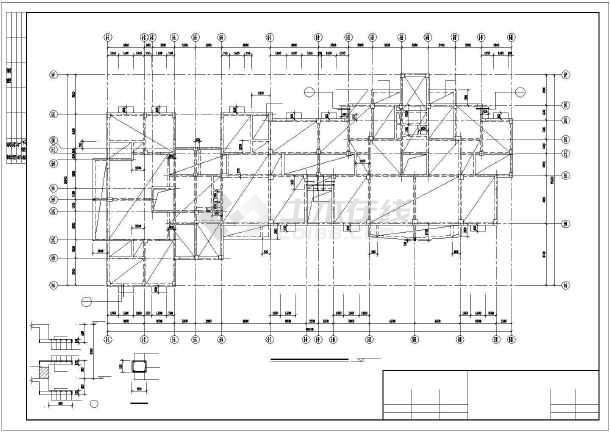 某小高层纯剪住宅全套结构设计图-图2