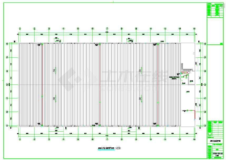 某地小型摄影棚、影视基地电气施工图纸-图1