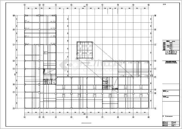 大连某框剪结构设计图-图1