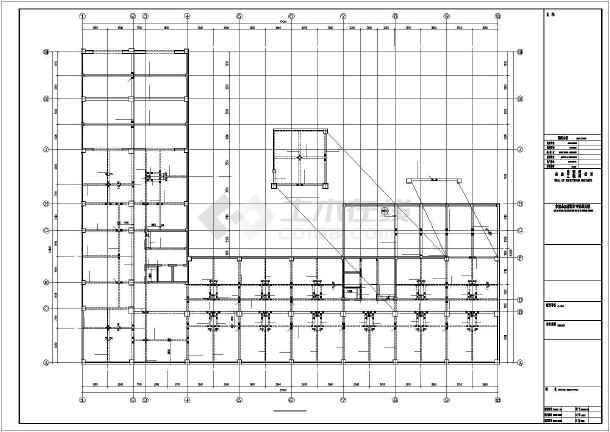 大连某框剪结构设计图-图2