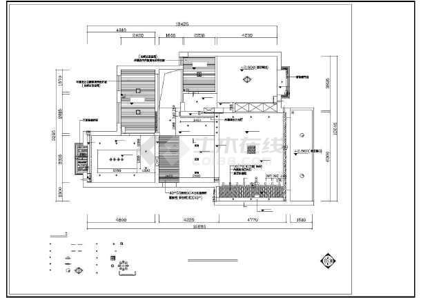 梦园别墅装修设计施工图-图1