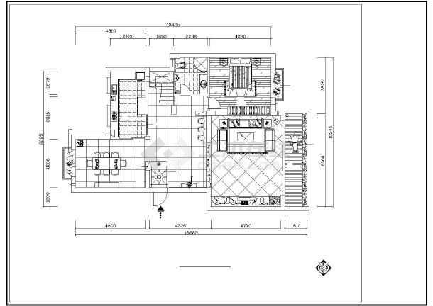 梦园别墅装修设计施工图-图2