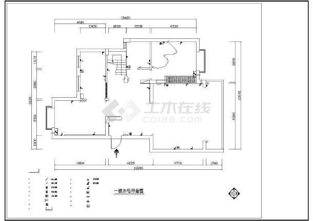 梦园别墅装修设计施工图-图3