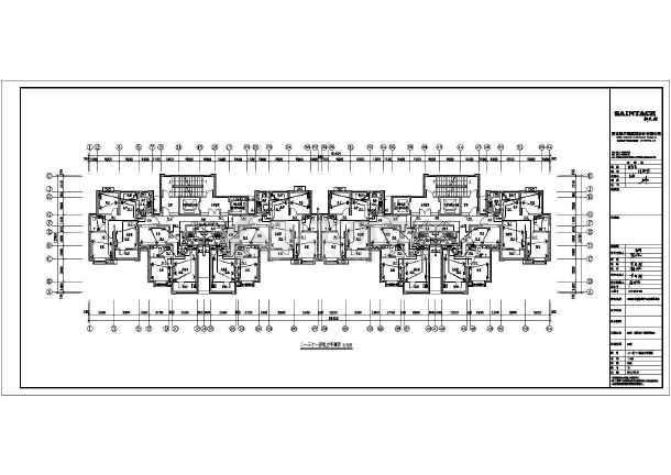 [河北]31层高层住宅楼带人防电气施工图-图2