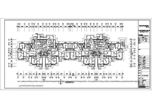 [河北]31层高层住宅楼带人防电气施工图-图3
