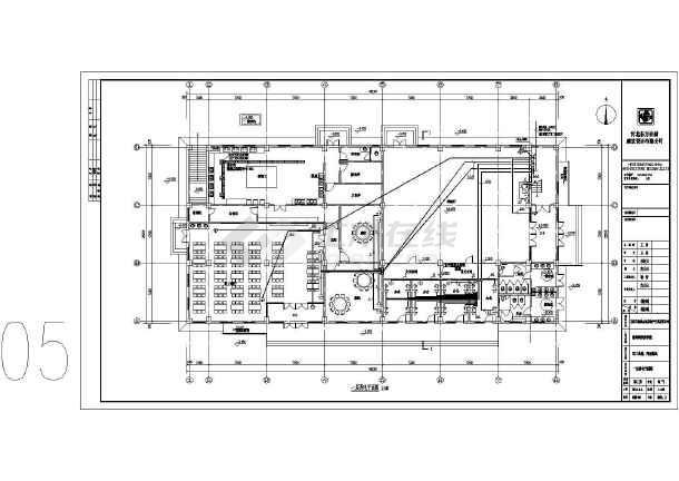 [河北]食堂、操场电气施工图(2016最新设计)-图2