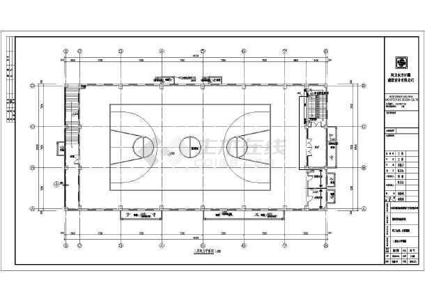 [河北]食堂、操场电气施工图(2016最新设计)-图3