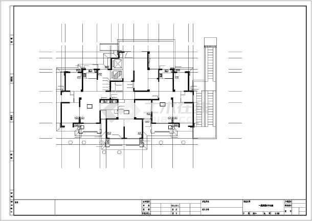 安徽超高层住宅给排水施工图-图1