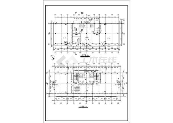 某商业综合楼建筑施工图-图1