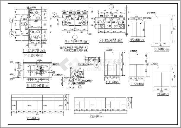 某商业综合楼建筑施工图-图3