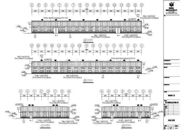 某地公司建筑工程CAD图(含设计说明)-图2