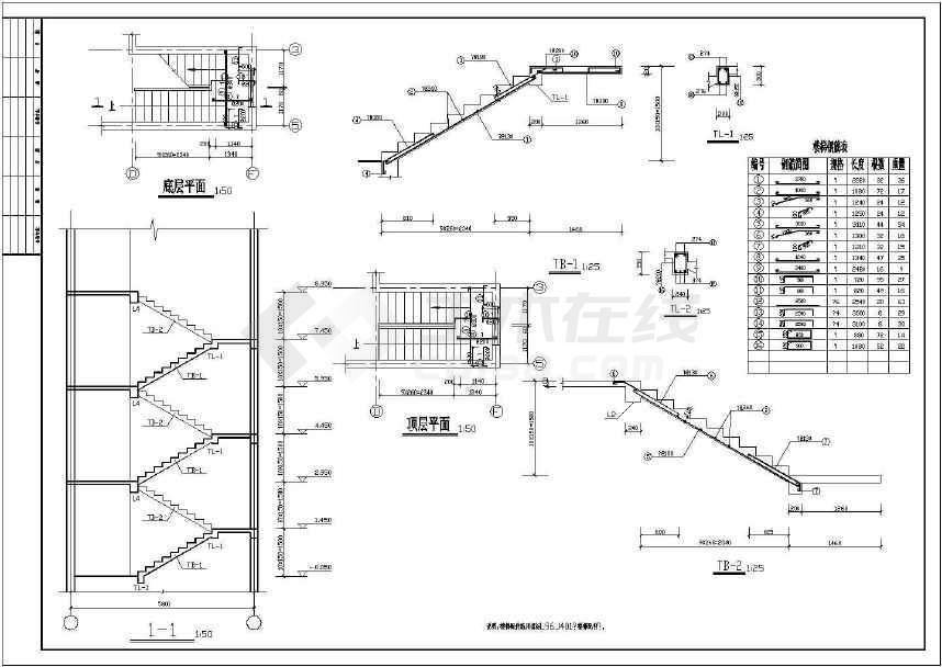 某地多层住宅楼结构施工图-图2