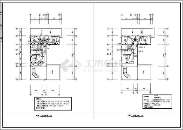 某别墅电气施工全套规划图纸-图1