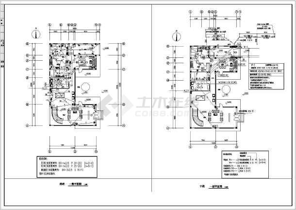 某别墅电气施工全套规划图纸-图2