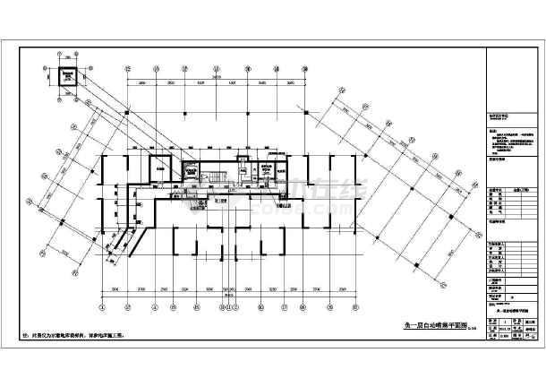 安徽超高层商住建筑给排水施工图-图2