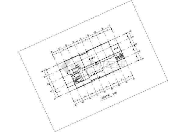 某地区高级写字楼建筑图(共15张)-图2