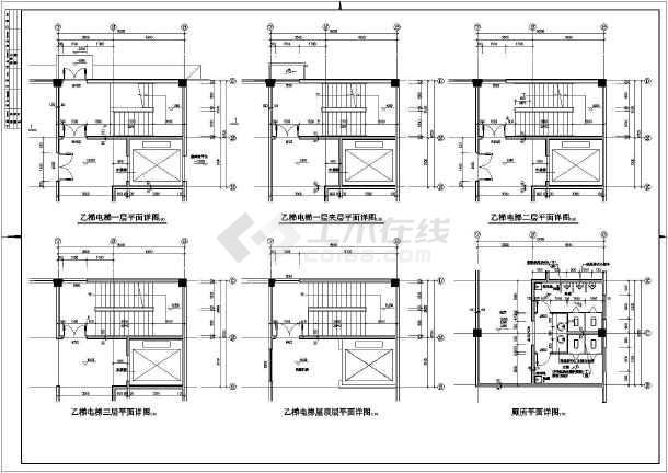 某多层混凝土框架厂房结构设计图-图2
