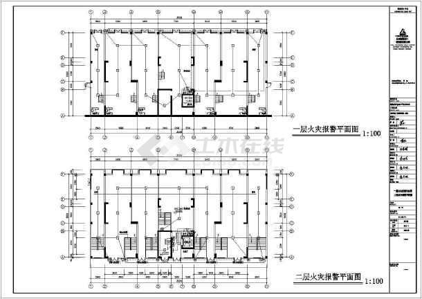 [湖南]四季花城商住楼电气施工图-图3