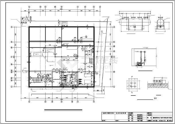 佳木斯某百货商场翻建空调施工图纸-图2