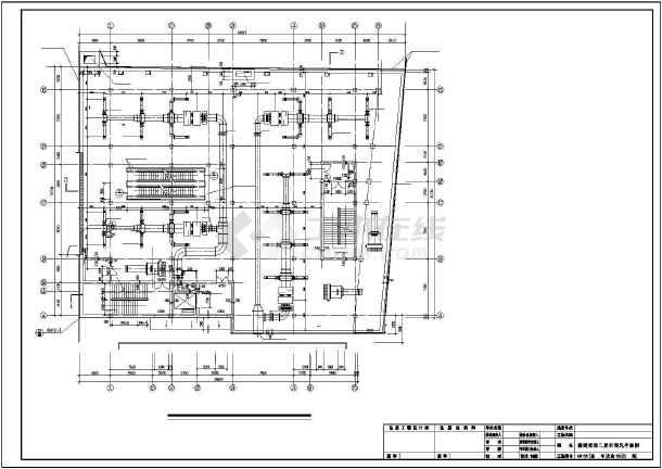 佳木斯某百货商场翻建空调施工图纸-图3