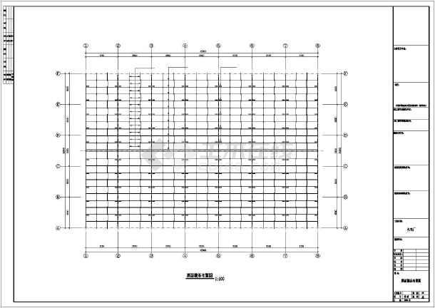 某地火电厂建筑结构施工图-图3