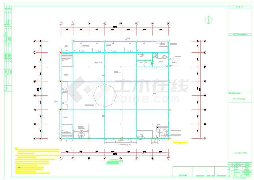 学校食堂电气设计图纸(含设计说明)-图1
