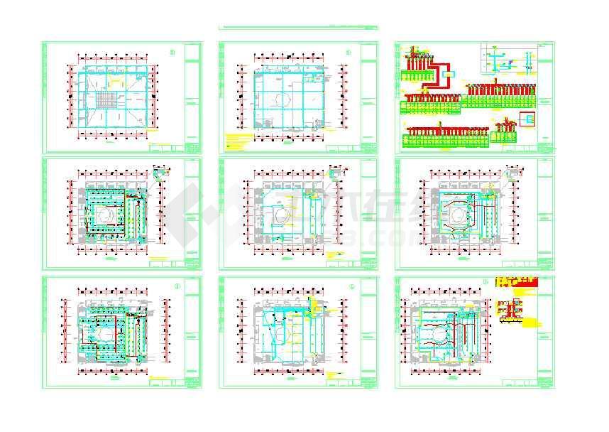 学校食堂电气设计图纸(含设计说明)-图2