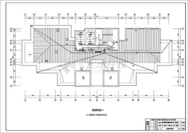 [天津]17层高层住宅电气施工图-图2