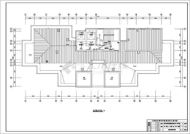 [天津]17层高层住宅电气施工图-图3