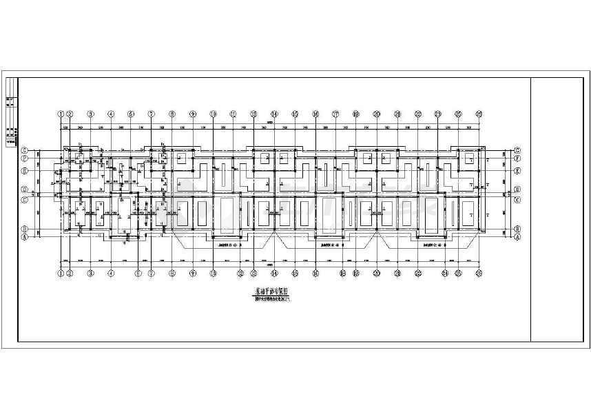 某六跃七层砖混住宅结构图(含设计说明)-图2