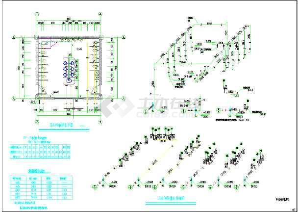某镇某幼儿园新建工程给排水施工图(含设计说明)-图3