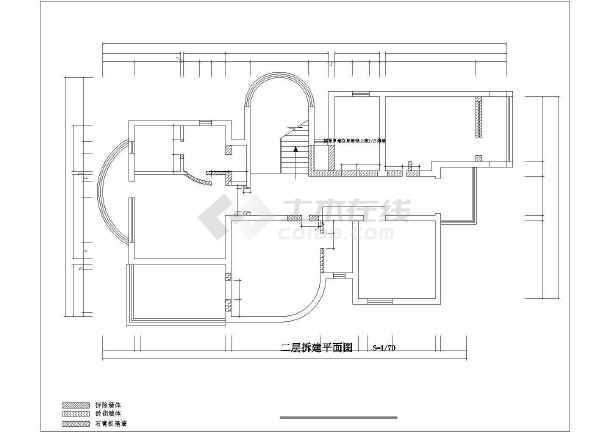 康桥半岛别墅装修设计施工图-图1