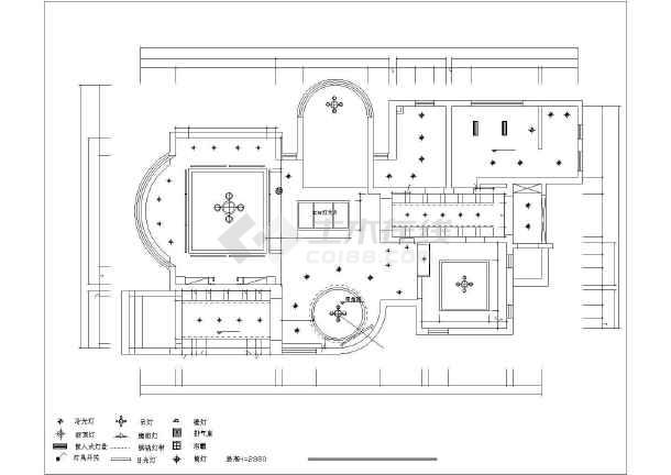 康桥半岛别墅装修设计施工图-图2