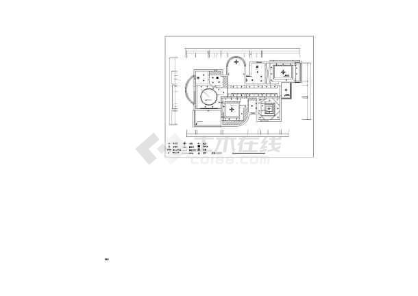 康桥半岛别墅装修设计施工图-图3