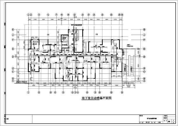 安徽高层住宅小区及其配套建筑给排水施工图-图1