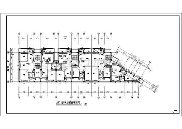 某六层住宅楼采暖图-图1