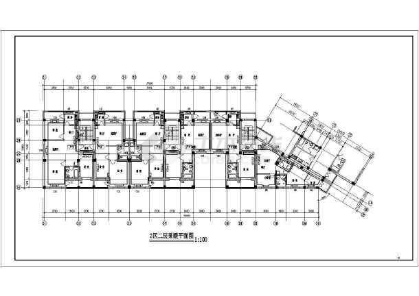 某六层住宅楼采暖图-图3