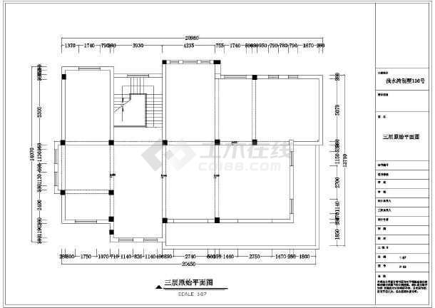 欧式简约时尚别墅全套装修设计图-图2