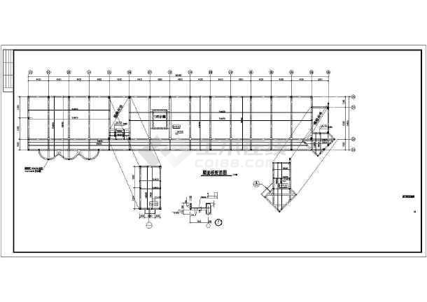 某地区教学楼建筑结构施工CAD图纸-图3