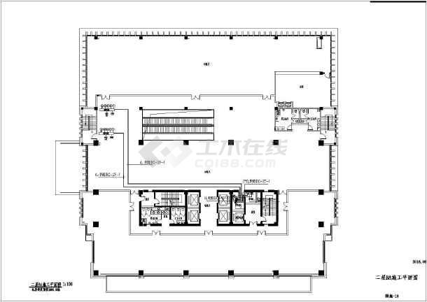[江苏]办公大楼智能化工程电气全套图-图1