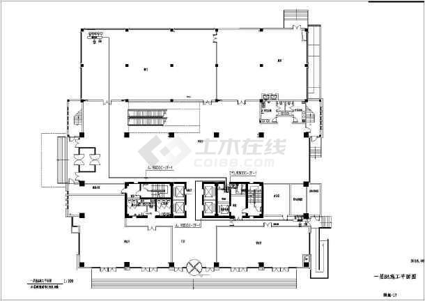 [江苏]办公大楼智能化工程电气全套图-图2
