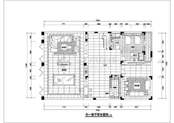 欧式精装别墅全套装修设计施工图-图2