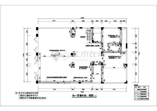 欧式精装别墅全套装修设计施工图-图3