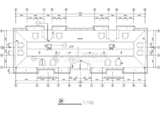 某市高层住宅建筑设计cad施工图-图1